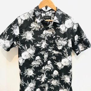 Pacsun Los Angeles Bold Floral CAMP SHIRT Medium